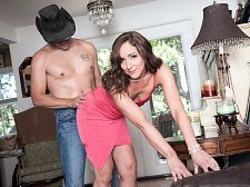 Once in a blue moon, Natalie gets ass-fucked on-camera