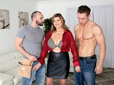 Brenda gets DP'd in her second scene ever!